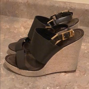 [Tory Burch] Leather Wedges